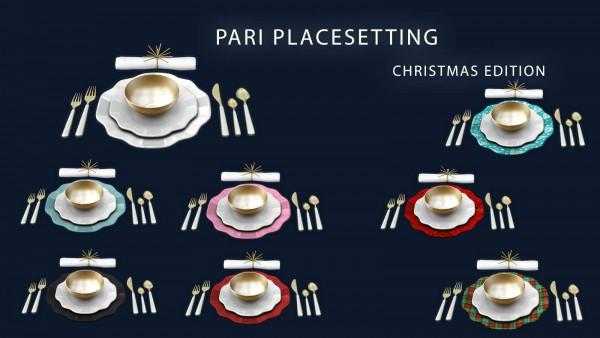 Leo 4 Sims: Pari Placesetting