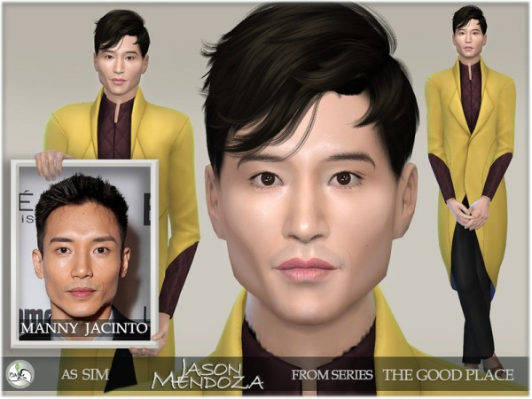 The Sims Resource: The Good Place   Jason Mendoza by BAkalia