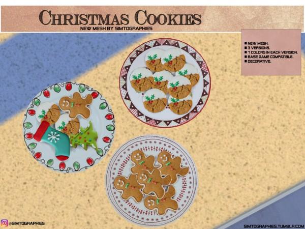 Simtographies: Christmas Cookies