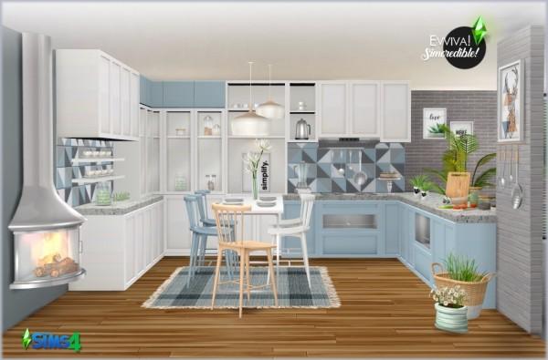 SIMcredible Designs: Evviva Kitchen