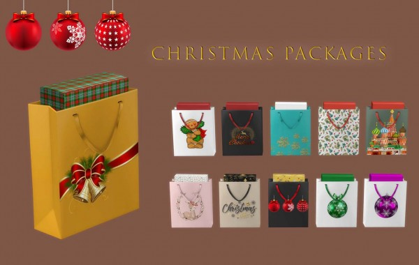 Leo 4 Sims: Christmas Packages