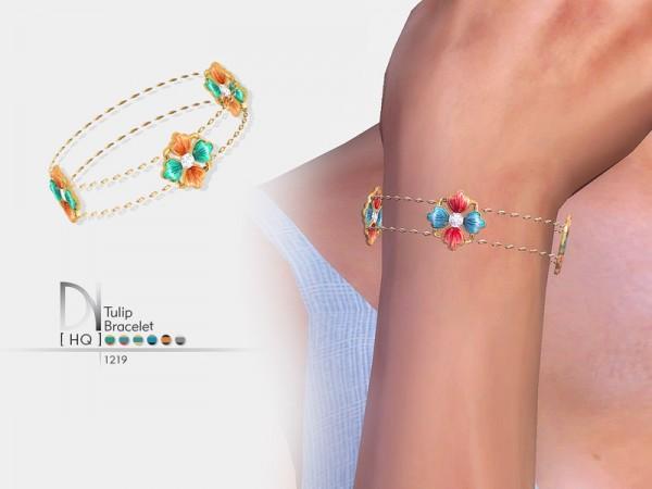 The Sims Resource: Tulip Bracelet by DarkNighTt
