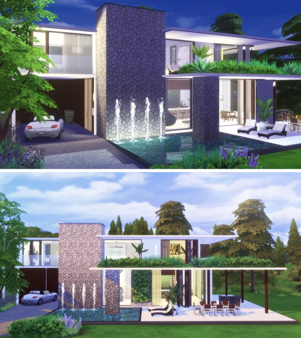Gravy Sims: Modern Home for Two