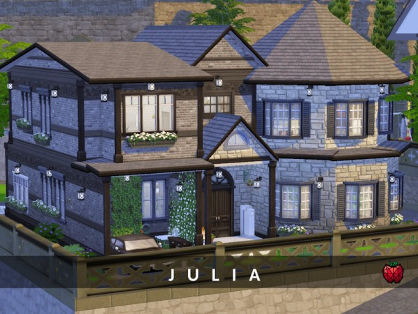 The Sims Resource: Julia (no cc)y melapples