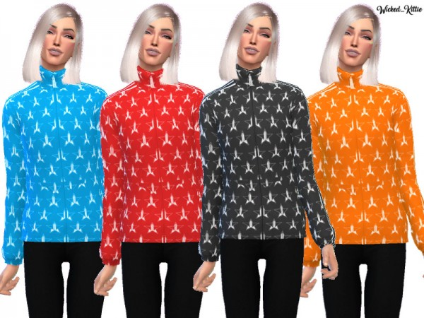 The Sims Resource: Jeffree Star Tracksuit Jacket by Wicked Kittie