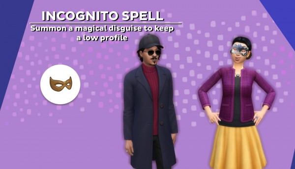 Mod The Sims: Incognito Spell by kutto