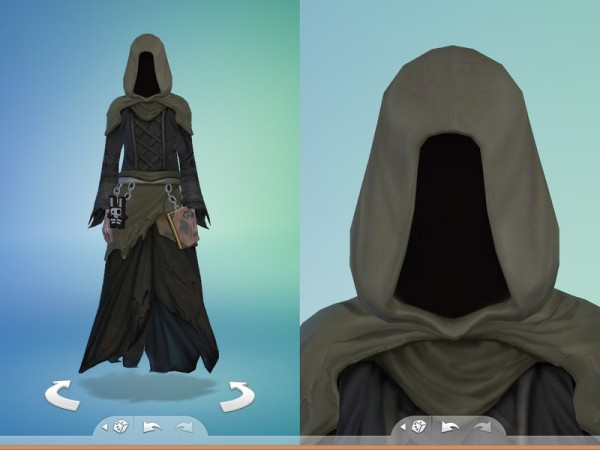 The Sims Resource: Grim Reaper outfit by gremlins696