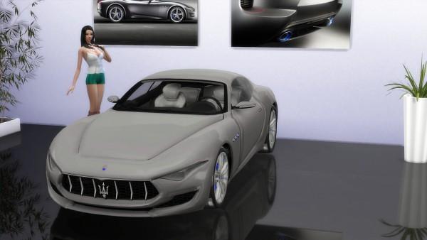 Lory Sims: Maserati Alfieri Concept
