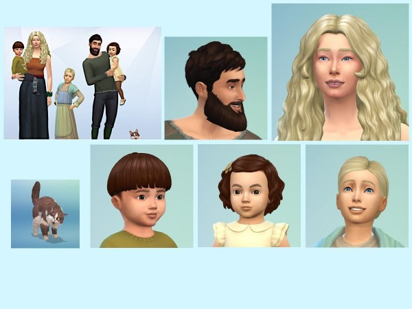 KyriaTs Sims 4 World: The Nypan Family