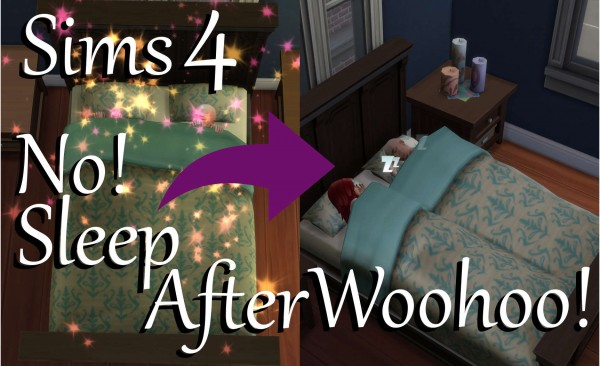 Mod The Sims: No! Sleep after Woohoo! by PolarBearSims