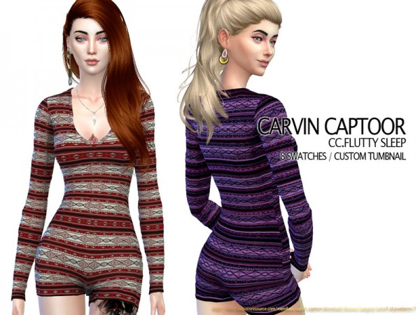 The Sims Resource: Flutty Sleep by carvin captoor