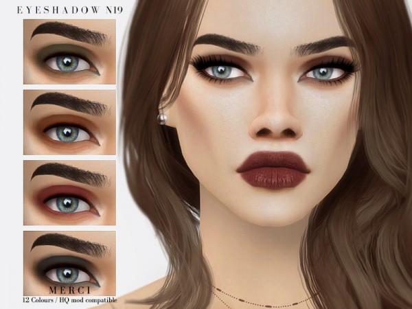 The Sims Resource: Eyeshadow N19 by Merci