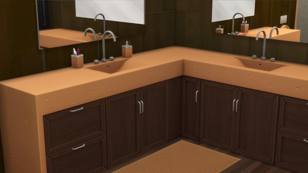 Mod The Sims: Chic Bathroom by littledica