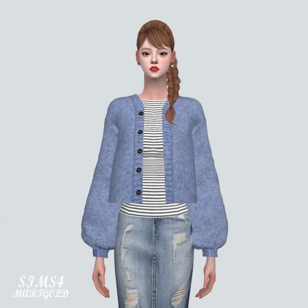 SIMS4 Marigold: BB Cardigan