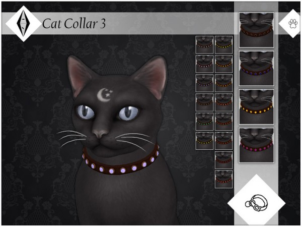 The Sims Resource: Cat Collar 3 by AleNikSimmer