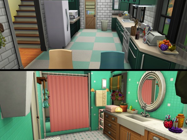 The Sims Resource: Leslie House no cc by melapples