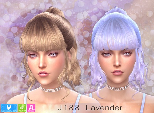NewSea: J188 Lavender donation hairstyle