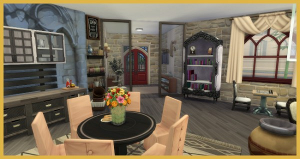 Blackys Sims 4 Zoo: A piece of castle by Kosmopolit