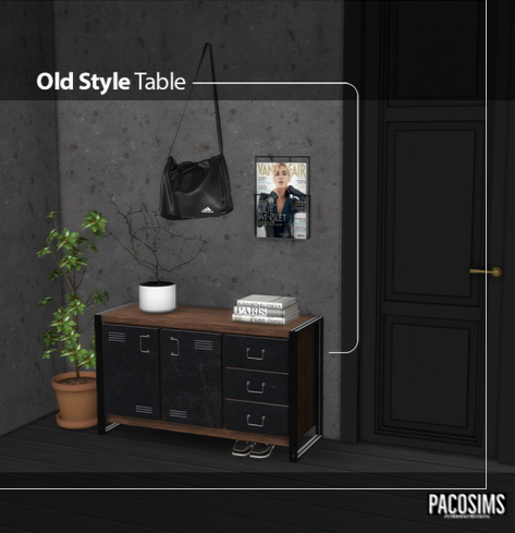 Paco Sims: Old Style Table