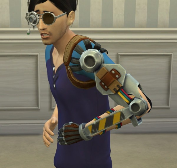 Mod The Sims: Stand alone ROBOT ARM accessory by horresco