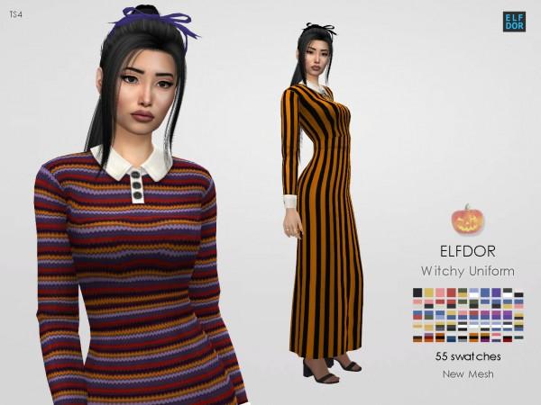 Elfdor: Witchy School Uniform