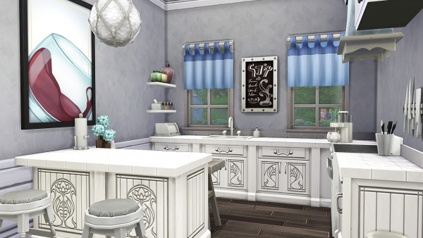 Aveline Sims: Head chancellors family house