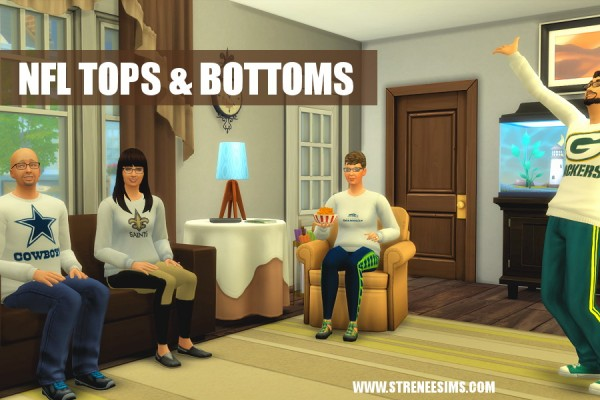 Strenee sims: NFL Tops and Bottoms