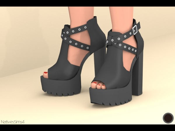 Natives Sims: Low Boots 02