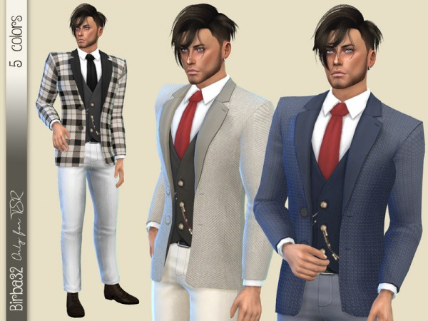 The Sims Resource: 2020 Suit by Birba32