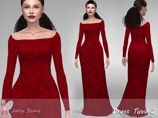 The Sims Resource: Dress Tuva 2 by Jaru Sims