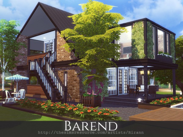 The Sims Resource: Barend House by Rirann