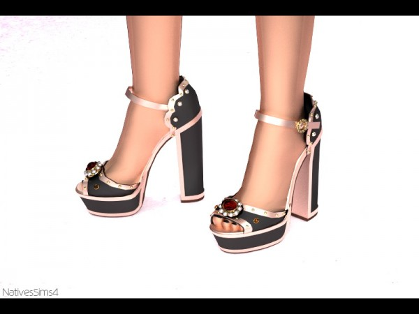 Natives Sims: Heels 03