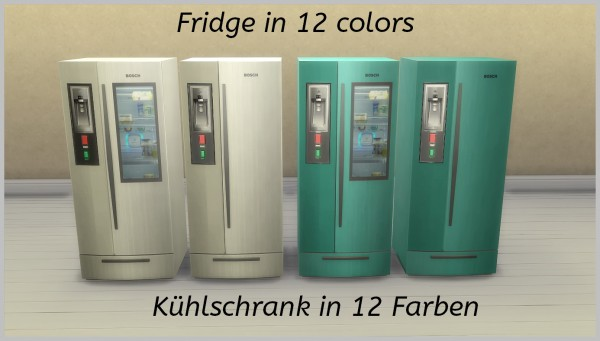 Mod The Sims: Modern fridge by hippy70