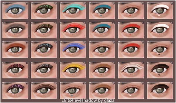 All by Glaza: Eyeshadow 18