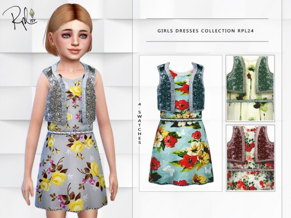 The Sims Resource: Girls Dresses Collection by RobertaPLobo