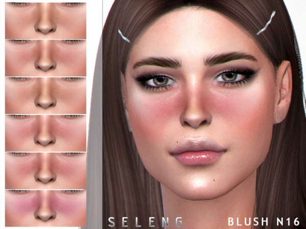 The Sims Resource: Blush N16 by Seleng