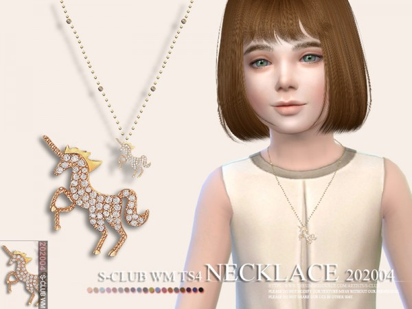 The Sims Resource: Necklace 202004 by S Club