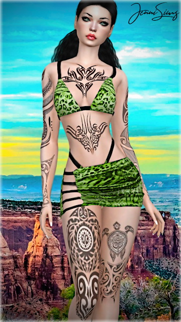 Jenni Sims: Collection Tattoos Extravagant