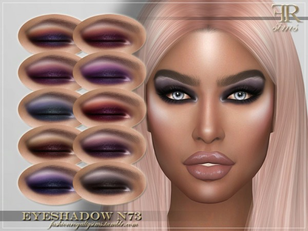 The Sims Resource: Eyeshadow N73 by FashionRoyaltySims