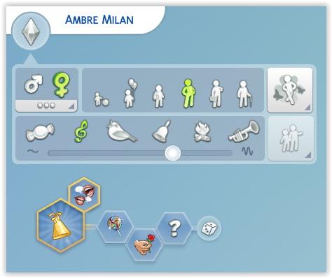 Studio Sims Creation: Ambre Milan