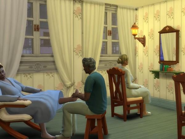 KyriaTs Sims 4 World: Holmsbu Helsebad   No CC