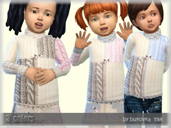 The Sims Resource: Sweater Golf by bukovka