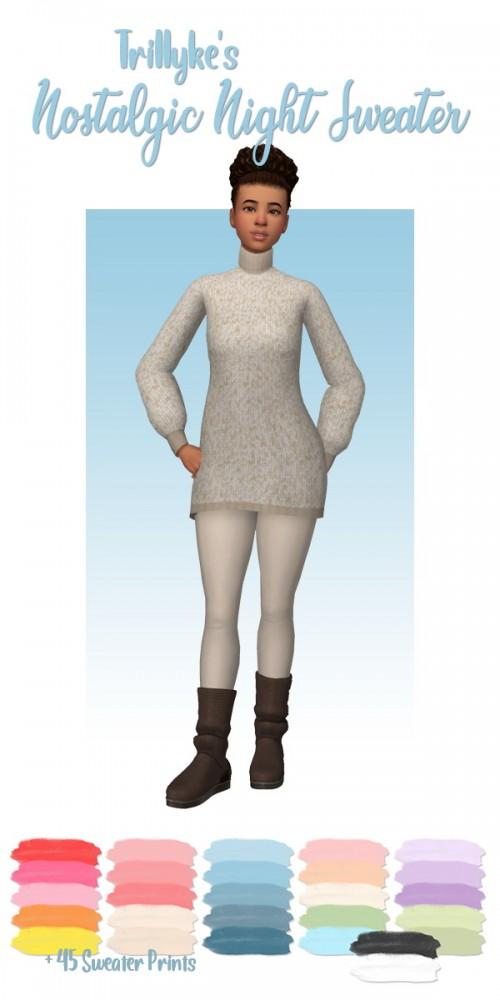 Deelitefulsimmer: Nostalgic Night Sweater