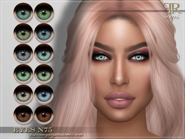 The Sims Resource: Eyes N75 by FashionRoyaltySims