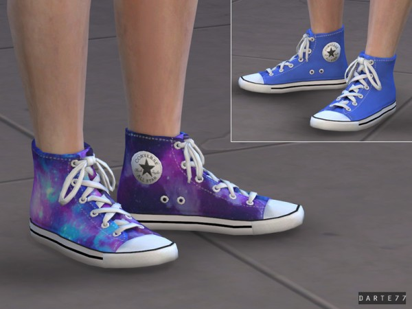 The Sims Resource: All Star Sneakers by Darte77