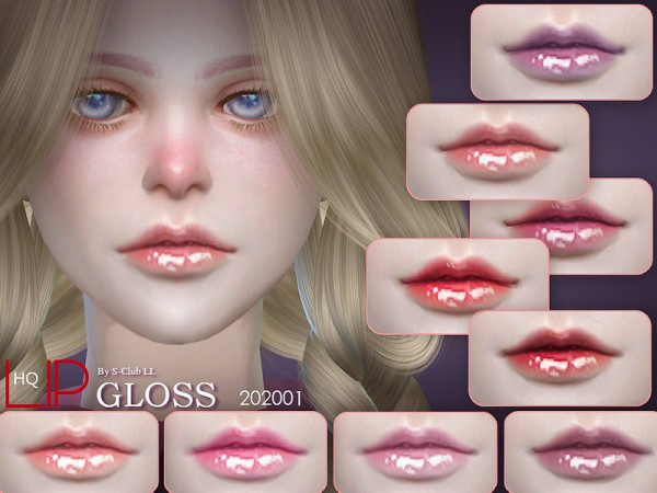 The Sims Resource: Lipstick 202001 by S Club