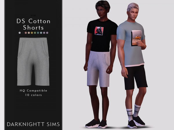 The Sims Resource: Cotton Shorts by DarkNighTt