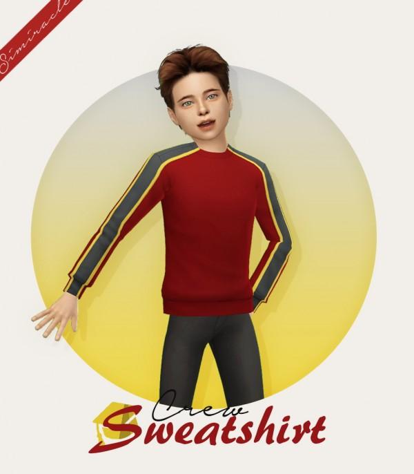 Simiracle: Crew Sweatshirt   Kids Version
