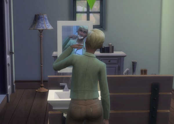 Mod The Sims: Sims Brush Teeth Faster by SHEnanigans