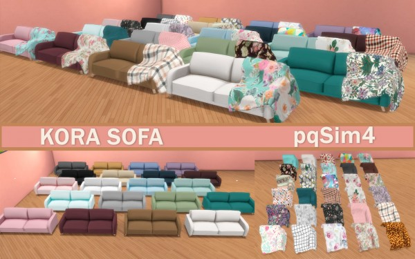 PQSims4: Kora Sofa